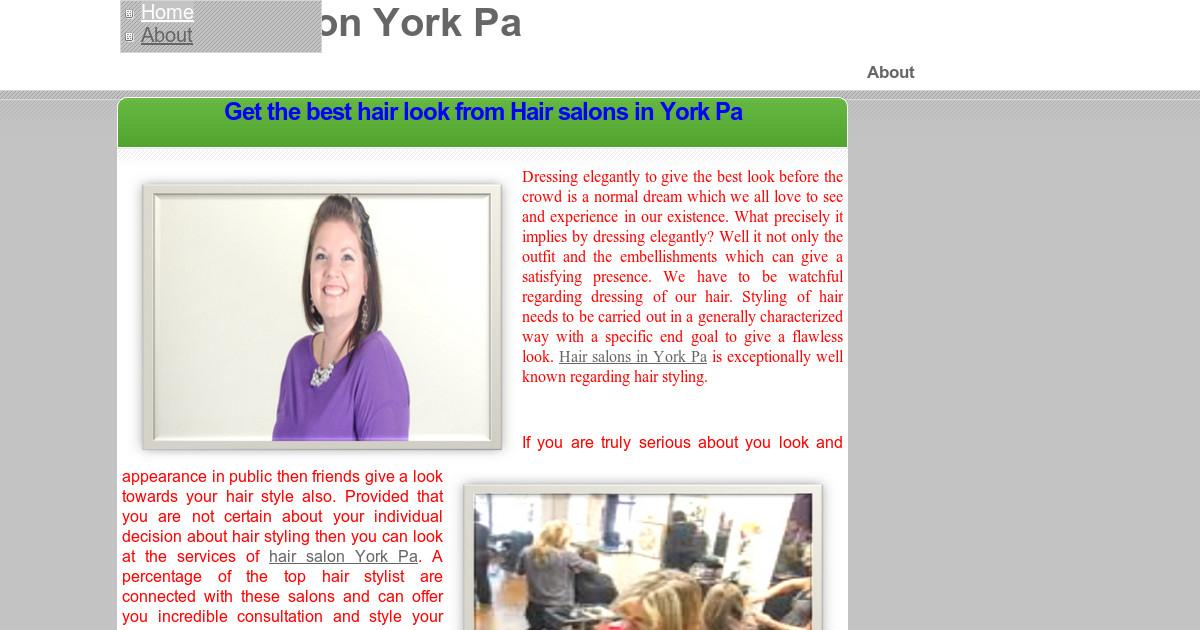 Hair Salon York Pa About