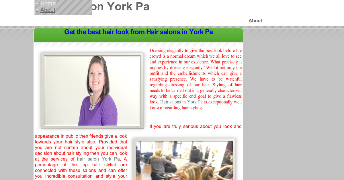 Hair Salon York Pa Home